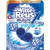 Witte Reus blauw actief toiletblok hygiëne voorkant