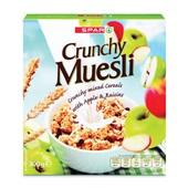 Spar Muesli Crunchy Appel voorkant