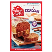 Home Made bakmix  kruidcake voorkant