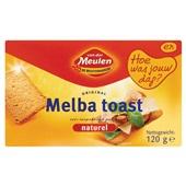 Van der Meulen Melba Toast Naturel voorkant