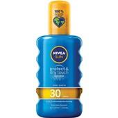 Nivea zonnebrandcrème factor 30 voorkant