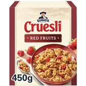 Quaker cruesli rode vruchten voorkant