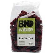 Bio Nature cranberries bio  voorkant