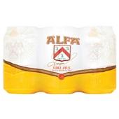Alfa bier pils voorkant