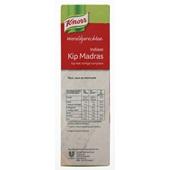 Knorr Wereldgerechten Kip Madras achterkant