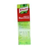 Knorr Wereldgerechten Burritos achterkant