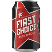 First Choice cola 0,33 L voorkant