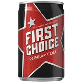 First Choice cola 0,15L voorkant