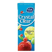 Crystal Clear Crystal Clear cranberry lime voorkant