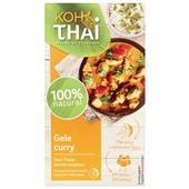 Koh Thai gele curry paste voorkant