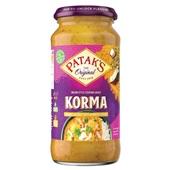 Patak's curry  korma saus voorkant
