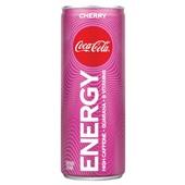 Coca Cola cola energy cherry voorkant