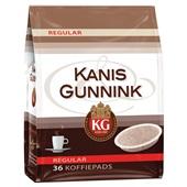 Kanis - Gunnink Koffiepads Regular achterkant