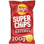 Lay's Superchips  Naturel voorkant