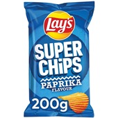 Lay's Superchips  paprika voorkant