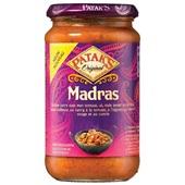 Patak's saus madras voorkant