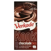 Verkade Verkade kook chocolade voorkant