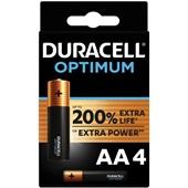 Duracell batterijen optimum AA voorkant