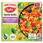 Iglo ping & klaar veggie bowl groente curry voorkant