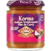 Patak's currypasta korma voorkant