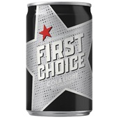 First Choice  cola  light 0,15L voorkant