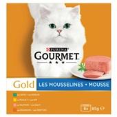 Gourmet Gold Kattenvoer Fijne Mousse voorkant