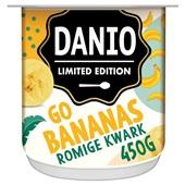 Danio kwark go bananas voorkant