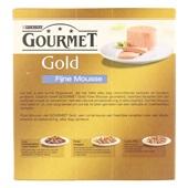 Gourmet Gold Kattenvoer Fijne Mousse achterkant