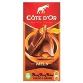 Côte d'Or Bon Bon Bloc praliné en karamel voorkant