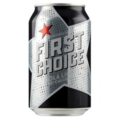 First Choice cola  light 0,33L voorkant