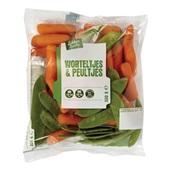 worteltjes en peultjes voorkant
