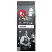 Douwe Egberts Café espresso koffiebonen voorkant