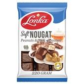 Lonka soft nougat peanuts & milk chocolate voorkant