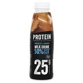 Melkunie Protein chocolate flavoured milk drink voorkant