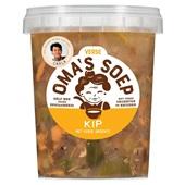 Oma's Soep kippensoep voorkant