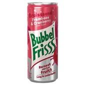 Bubbelfrisss frisdrank framboos cranberry voorkant