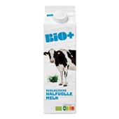 Bio+ halfvolle melk biologisch voorkant
