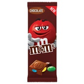 M&M'S chocoladereep chocolate voorkant