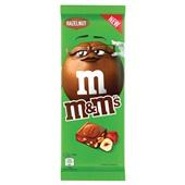M&M'S chocoladereep hazelnut voorkant
