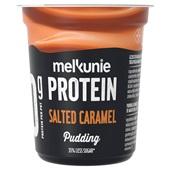 Melkunie proteïne pudding karamel voorkant