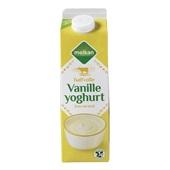 Melkan Vanilleyoghurt Halfvol voorkant