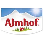 Almhof Yoghurt Aardbei 0% Vet achterkant