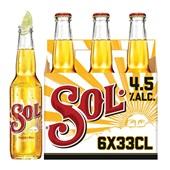 Sol bier Mexicaans voorkant