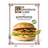 Vegetarische slager bofkipburger voorkant