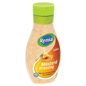 Remia Saladedressing Honing/Mosterd achterkant