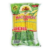gekookte mais voorkant