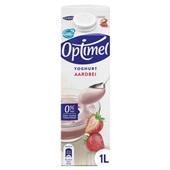 Optimel Yoghurt Aardbei voorkant