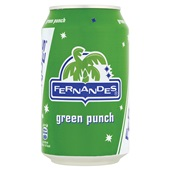 Fernandes Frisdrank Green Punch voorkant