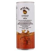 Malibu Rum Cola achterkant
