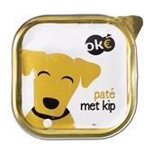 Oke Hondenvoer Paté Met Kip voorkant